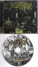 DEVASTATION original CD Signs of life 1999 on Century Media