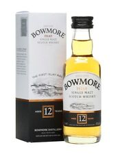 BOWMORE 12 Jahre -  Single Islay Malt Whisky 40% 1x0,05L