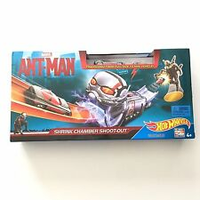 Hot Wheels Marvel Ant-Man Shrink Chamber Shoot-Out Track Set Playset