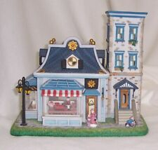 PartyLite Olde World Village Toy Shoppe Hand Painted Bisque Porcelain Retired
