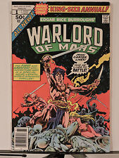 John Carter Warlord of Mars Annual #1 (Oct 1977, Marvel)