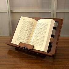 Wooden Book Holder Stand Made in Japan / TOYOOKA CRAFT / MC002005