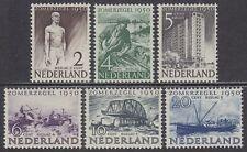 NVPH 550-555 Zomer 1950 postfris (MNH)