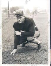 1931 Yale University Bulldogs Football Guard Allen Converse Press Photo