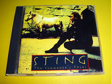 """CD """" STING - TEN SUMMONER'S TALES """" 12 SONGS (IF I EVER LOOSE MY FAITH IN YOU)"""