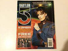 Babylon 5 Magazine No. 1 July 1998 (With Poster)