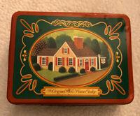 1987 Vintage Collectible Original Toll House Cookie Storage Tin (empty)