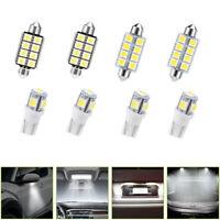 T5 B8.5D 5050 SMD LED Lamp Auto Car Instrument Dashboard Light Bulbs White x10Pc