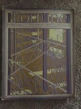RARE 10TH ISSUE OF FORTUNE MAGAZINE NOVEMBER 1930
