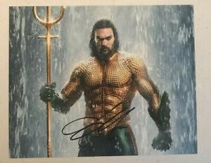 "JASON MOMOA ""Aquaman"" Hand Signed Autographed 8x10 Photo w/Hologram COA"