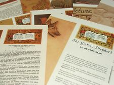 Lot of 12 -  Craftool Doodle Page of the Month: Leather Working Patterns