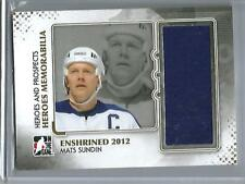 Mats Sundin 11/12 ITG Heroes & Prospects Game Used Jersey (1 of 10 Made)