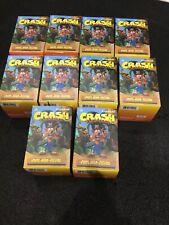 Kidrobot Crash Bandicoot Vinyl Mini Figure New - Lot of 10