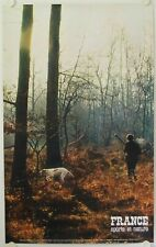 Affiche France SPORTS ET NATURE chasse Ann.'60 Imp. Helio Cachan - Tourisme