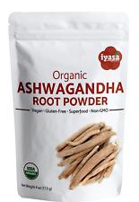 Organic Ashwagandha Root Powder Withania Somnifera Indian Ginseng#3DayShipping#