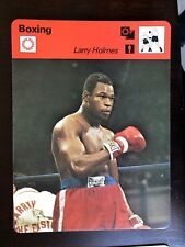 LARRY HOLMES 1978 Sportscaster Card #45-12 BOXING HEAVYWEIGHT CHAMP