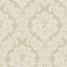 Arthouse Da Vinci Damask Cream Feature Wallpaper 405101 Classic Retro Pattern