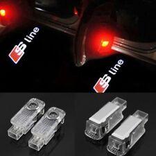 4PCS Türbeleuchtung Türlicht LED Logo Laser Einstiegsbeleuchtung Für Audi Sline