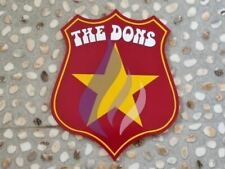More details for wimbledon dons 1976 hand cut wood speedway shield free p&p