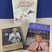 Wisdom of Menopause 3 piece set includes Book, Journal, DVD Christiane Northrup