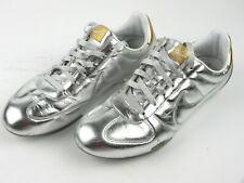 Sneaker Donna NIKE Sprint Sister 40,5 Pelle Argento Scarpe da ginnastica 311919
