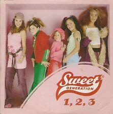 CD SINGLE 2 TITRES--SWEET GENERATION--1.2.3--2002