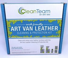 Art Van Clean Team Earth Friendly Leather Cleaning & Protection Kit NEW