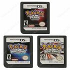 New Pokemon Platinum + Pearl + Diamond 3PS/Lot Game Card For Nintendo DS NDS DSI