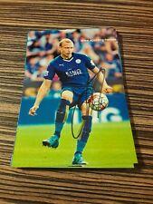 Signiertes Foto Ritchie de Laet Leicester City NEU