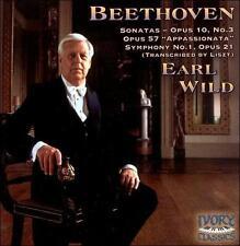 Earl Wild - Beethoven: Piano Sonatas; Symphony No. 1 (HDCD, Ivory, AM) BN Sealed