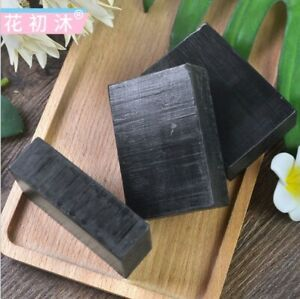 Charcoal Soap 100g & Bamboo Toothbrush- Good for Dry Skin, Eczema, Acne