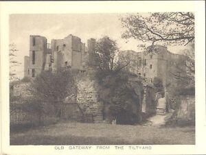 England - Kenilworth Castle - Old Gateway from the Tiltyard