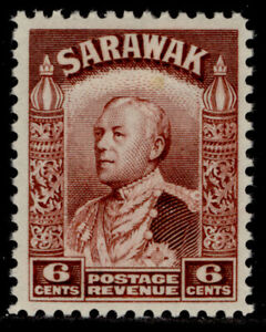 SARAWAK GV SG111a, 6c lake-brown, M MINT.