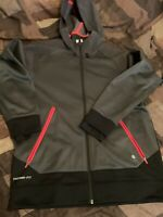 Nike Therma Fit Dark Gry/Red Mens Sz L (in Great Condition)