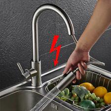 Niederdruck Ausziehbar Küchenarmatur Spültischarmatur Wasserhahn Mischbatterie