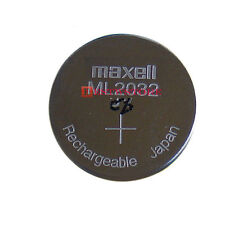 CMOS Battery New MAXELL ML 2032 ML2032 RECHARGEABLE 3V Button Coin Cell Battery