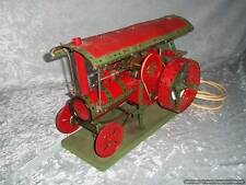 Meccano Red & Green Mounted Traction Engine Museum Disp