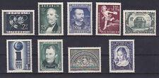 Österreich Jahrgang  1952 postfrisch** 9 Werte