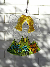 Fused Glass Art,handmade,Angel,unique gift for any occasion