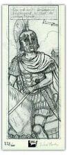 Ex-libris Morales Alix Légionnaire romain 300ex signé 9,5x22