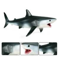 Lifelike Shark Shaped Kids Baby Toy Realistic Simulation Animal Model new sdt
