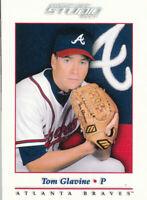 Tom Glavine 2001 Donruss Studio #36 Atlanta Braves Baseball Card