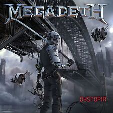 MEGADETH DYSTOPIA CD ALBUM (Released January 22nd 2016)