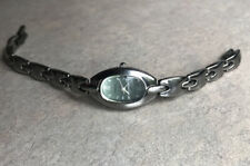 Fossil Womens Watch ES-9529 Stainless Steel With Green Dial Bin Q