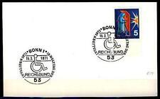 #L114 BUND Beleg, Mi. 629, (THW - Sauerstofflanze), St. Welttag der Invaliden