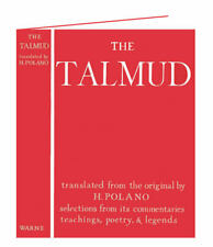 The Talmud : Selections, Prof. H Polano, 0723202621, HB 1978 1st Ed. - Judaism
