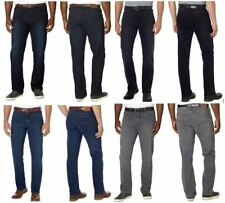 NWT Men's Urban Star Jeans Dark Blue Stretch Relaxed Straight Leg Cotton Variety