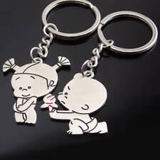 Key chain Lovers Propose Key Ring Fashion 1 Pair Couple Love Keychain Cartoon