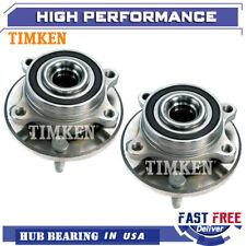 Timken Front Wheel Hub & Bearing Left & Right Pair for Ford Taurus Flex MKS MKT