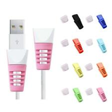 8Pcs USB Cable Wire Charger Protector Saver For iPhone Macbook Samsung Sony HTC